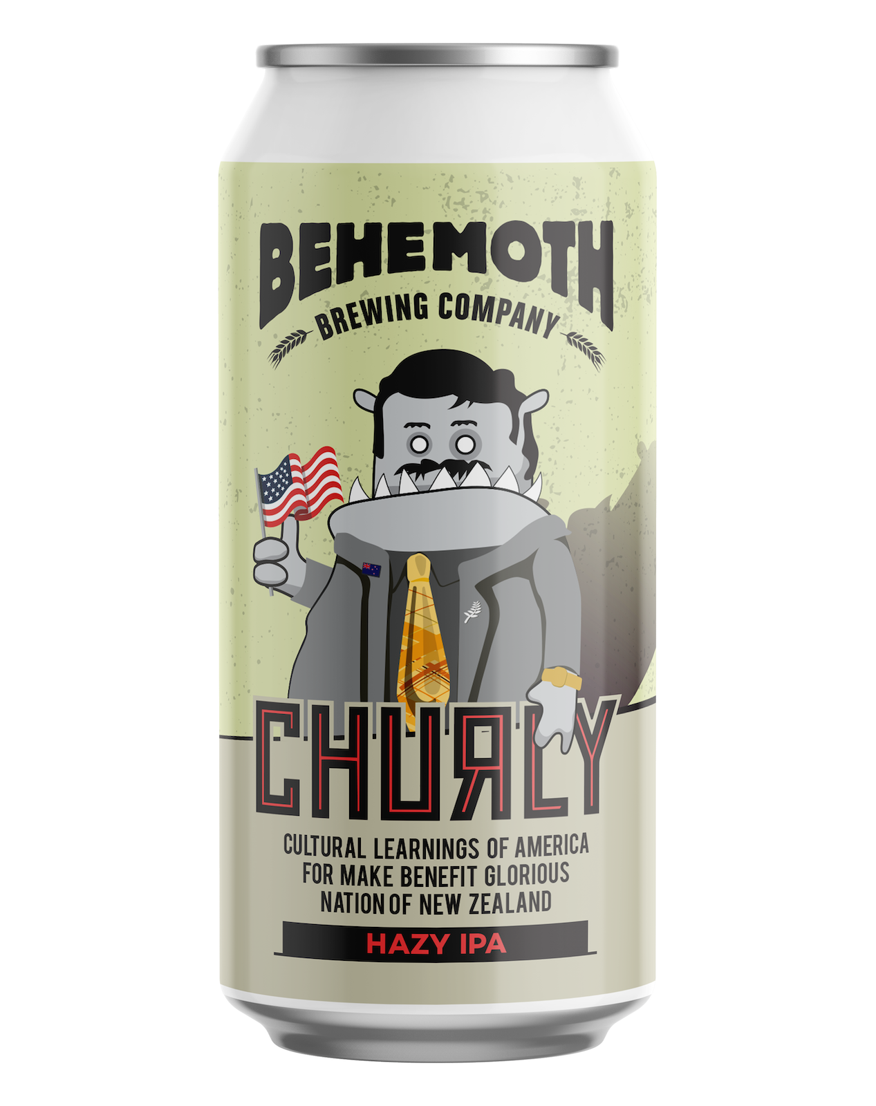 Churly Cultural Learnings of America to make great glorious nation of New Zealand Hazy IPA