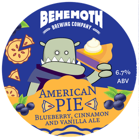 American Pie tap badge