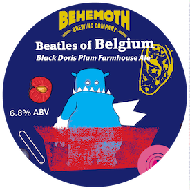 Beatles of Belgium tap badge