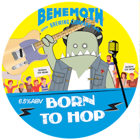Born to Hop tap badge