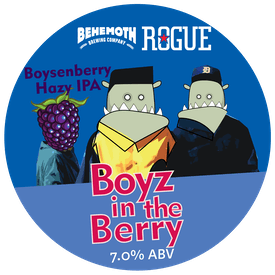 Boyz in the Berry tap badge