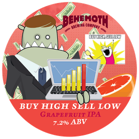 Buy High Sell Low tap badge