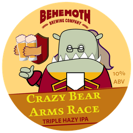 Crazy Bear Arms Race tap badge