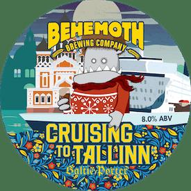 Cruising to Tallinn tap badge