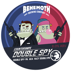 Double Spy tap badge