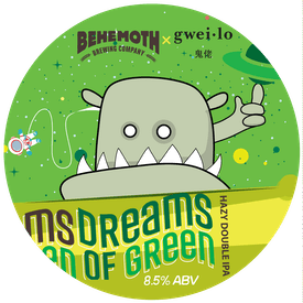 Dreams of Green tap badge