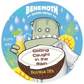 Getting Caught In The Rain tap badge