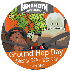 Ground Hop Day tap badge