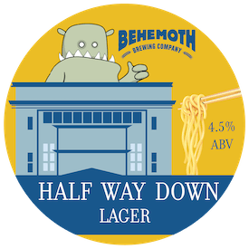 Half Way Down tap badge