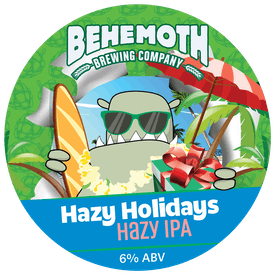 Hazy Holidays tap badge