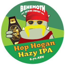 Hop Hogan tap badge