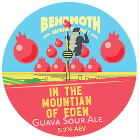 In the Mountain of Eden tap badge