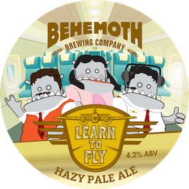 Learn to Fly Hazy Pale Ale tap badge