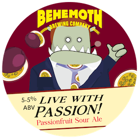 Live With Passion tap badge
