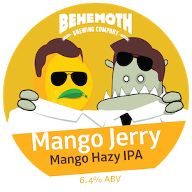Mango Jerry tap badge