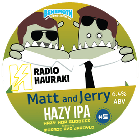 Matt & Jerry Hop Buddies #5 tap badge