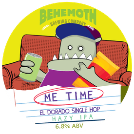 Me Time El Dorado tap badge