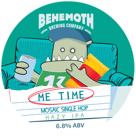 Me Time : Mosaic tap badge