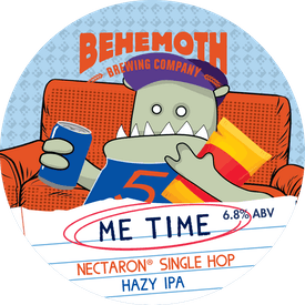 Me Time Nectaron tap badge