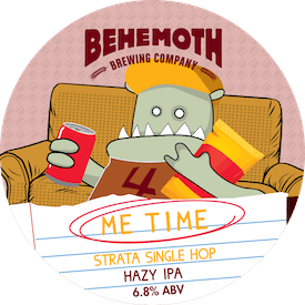 Me Time Strata Single Hop tap badge