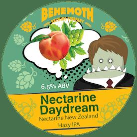 Nectarine Daydream tap badge