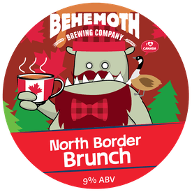 North Border Brunch tap badge