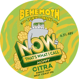 Now That's What I Call Hoppy - Citra tap badge