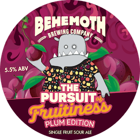 Pursuit of Fruitiness - Plum Edition tap badge