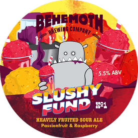 Slushy Fund No.1 tap badge