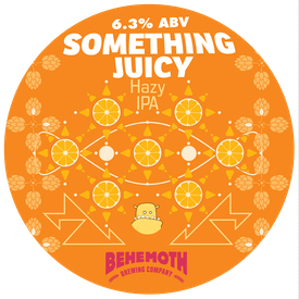 Something Juicy tap badge