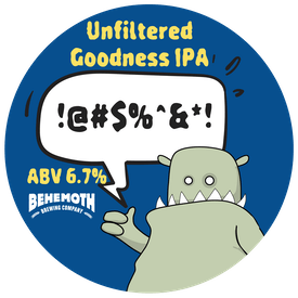 Unfiltered Goodness tap badge