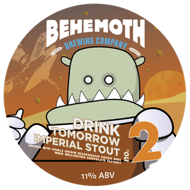 Drink Tomorrow No.2 tap badge