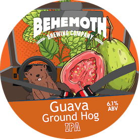 Guava Ground Hog tap badge