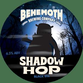 Shadow Hop Black IPA tap badge