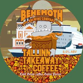 Tallinn Takeaway Coffee tap badge