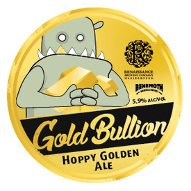 Gold Bullion tap badge