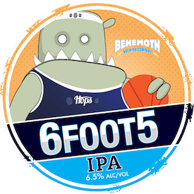 6 foot 5 tap badge