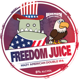 Freedom Juice tap badge