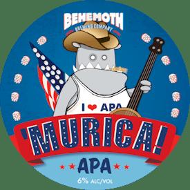 'Murica tap badge