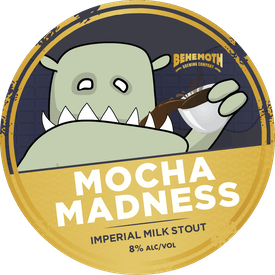 Mocha Madness tap badge