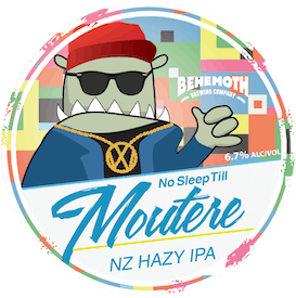 No Sleep Till Moutere tap badge