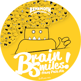 Brain Smiles tap badge