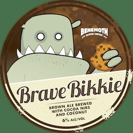 Brave Bikkie tap badge
