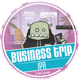 Business Trip IPA tap badge
