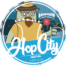 Hop City tap badge