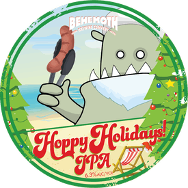Hoppy Holidays tap badge