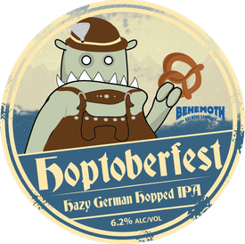 Hoptoberfest tap badge