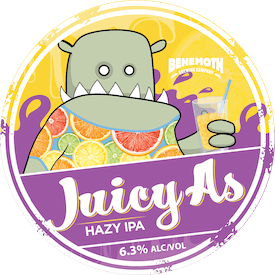 Juicy As tap badge