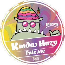 Kinda Hazy tap badge