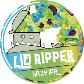 Lid Ripper tap badge
